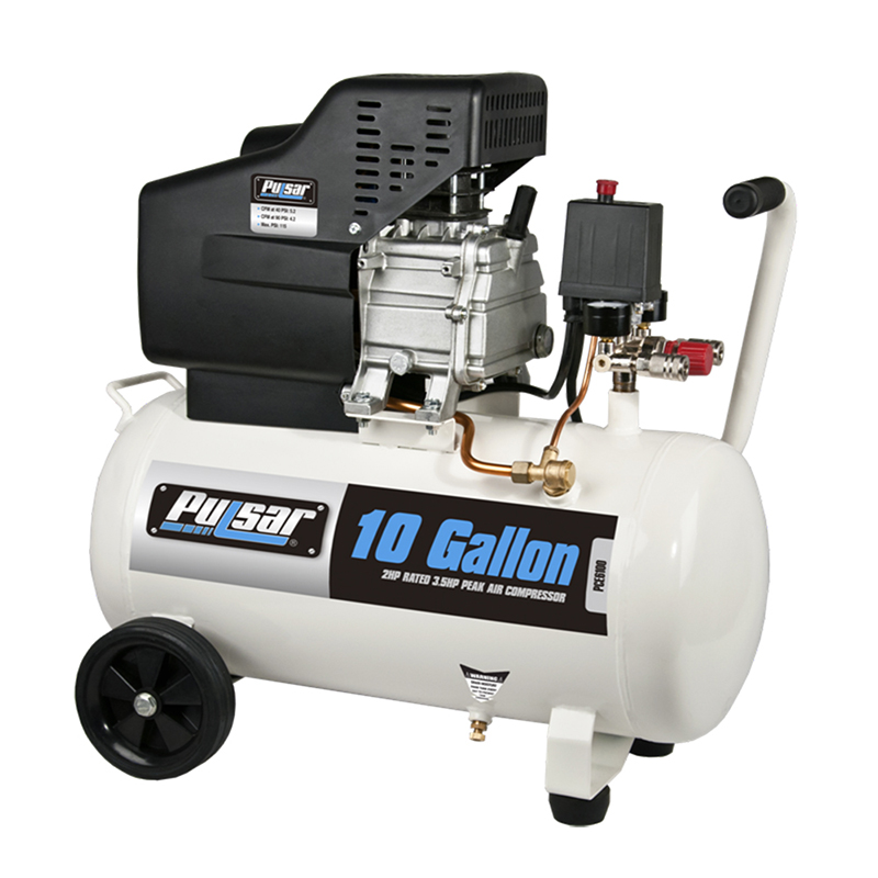 Pulsar 10 gallon air compressor
