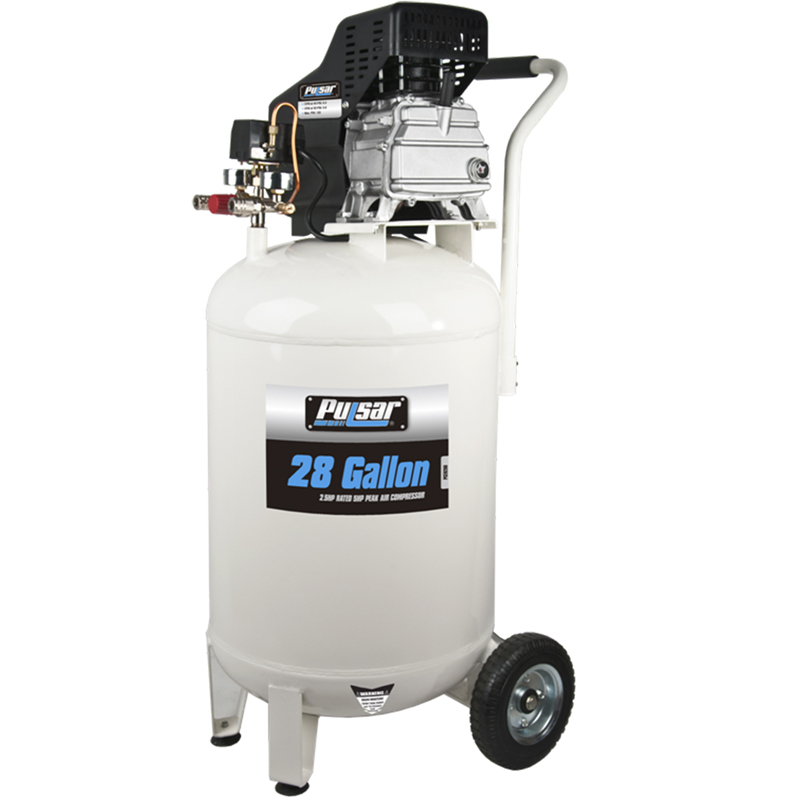 Pulsar 28 gallon air compressor