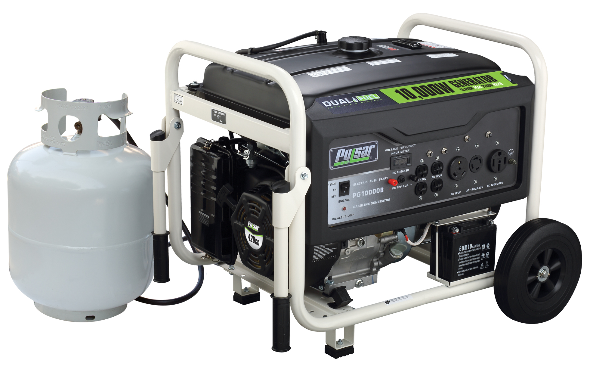 1000 watt dual fuel generator