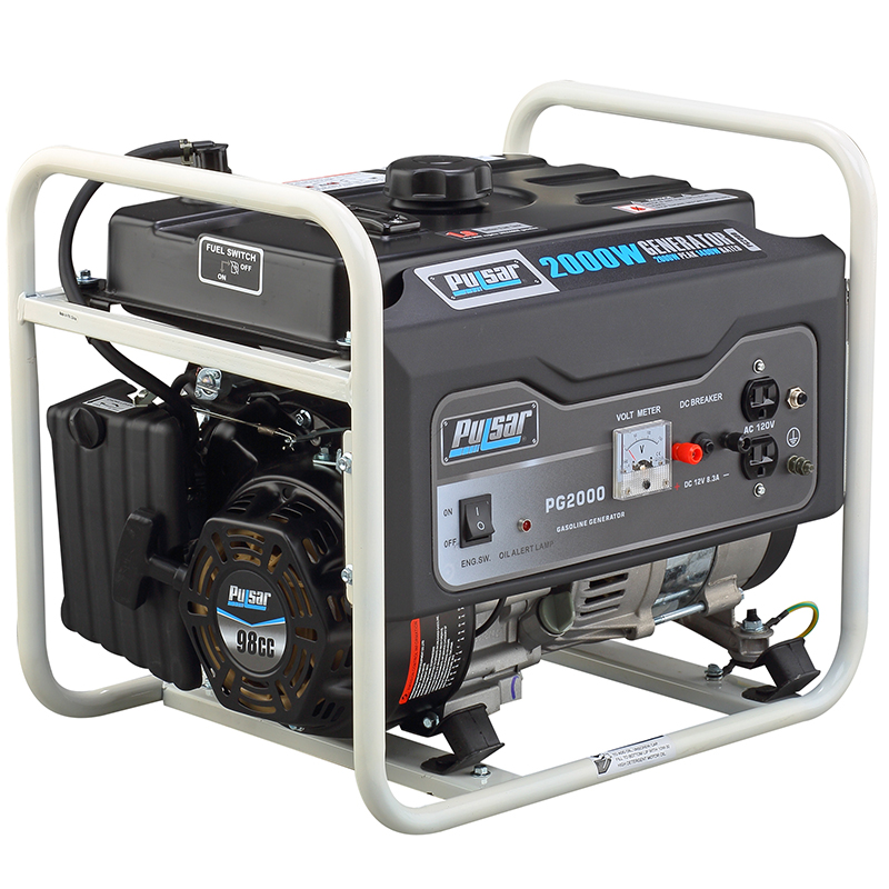 PG2000 portable generators pulsar  at readyjetset.co
