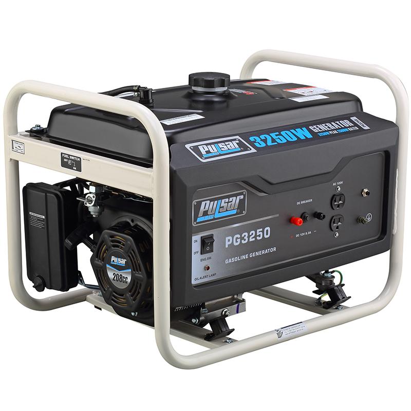 3250 watt gasoline generator
