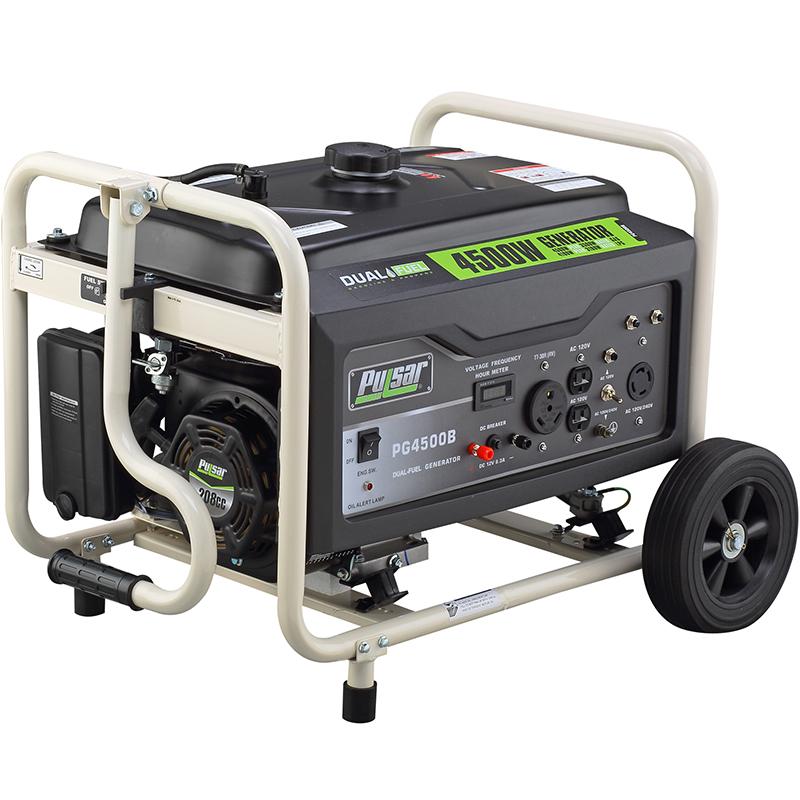 4500 watt dual fuel generator