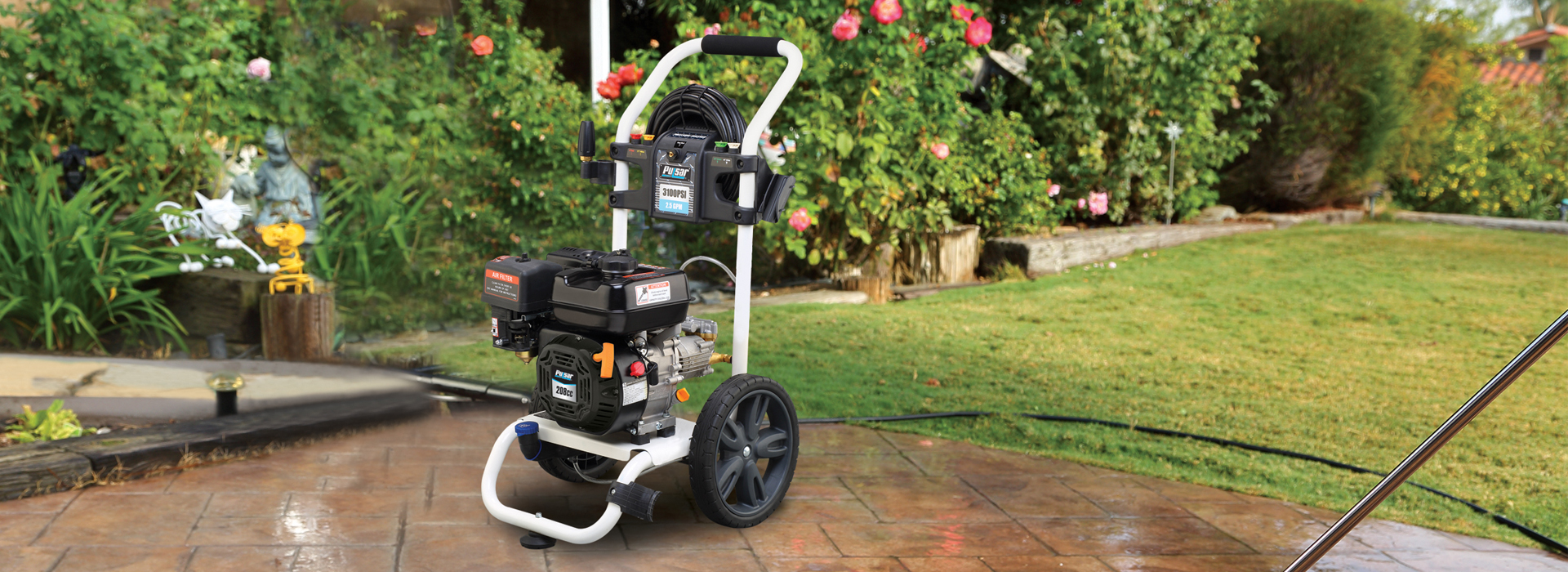 PGPW2700H-A pulsar pressure washer banner